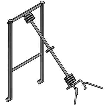 Тренажёр для workout ФС41 Элеватор