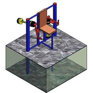 Тренажёр для workout ФС39 Ритм - трицепс